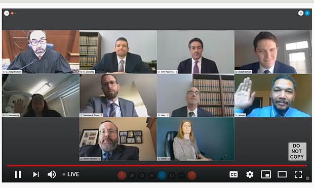 Commonwealth Court virtual proceedings