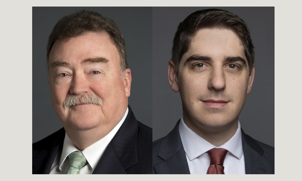 John A. McCreary, Jr., left, and Benjamin R. Wright, right, of Babst Calland Clements & Zomnir