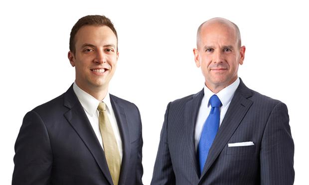 From left: Michael Pest and Kevin P. Allen of Eckert Seamans Cherin & Mellott.