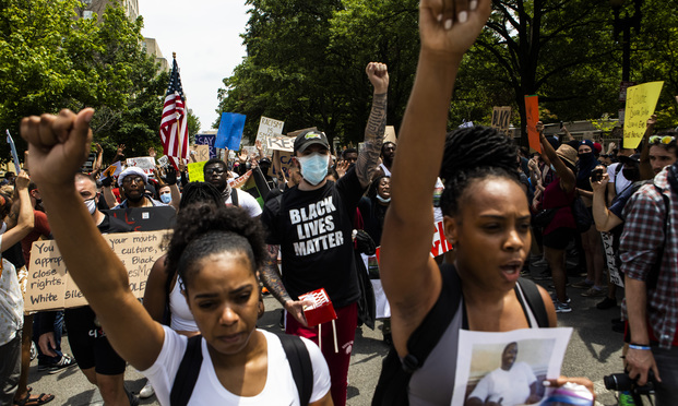Thousands march in Washington, D.C., protesting police brutality