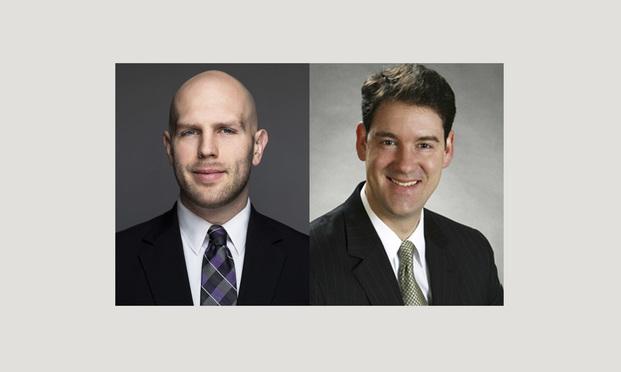 Sebastian Fischer and Alex Hershey of Clark Hill