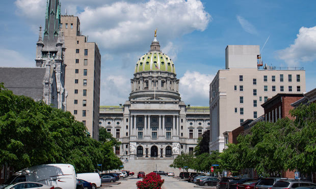 Pennsylvania State Capitol Building,