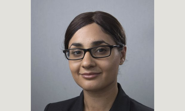 Amal Bass of Women's Law Project. Courtesy Photo