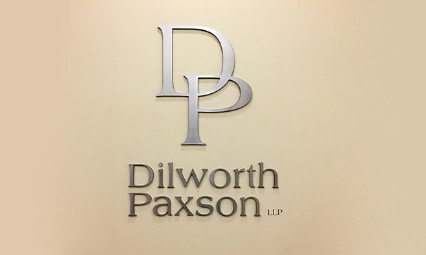 Dilworth Paxson Office Sign