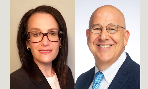 (L_R)Rebecca L. Rakoski of XPan Law and Steve Schain of Hoban Law Group. Courtesy photos