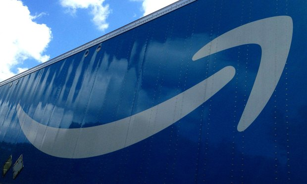 An Amazon delivery truck. Photo credit: Diego M. Radzinschi / ALM