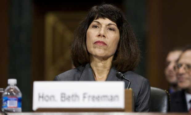 U.S. District Judge Beth Freeman