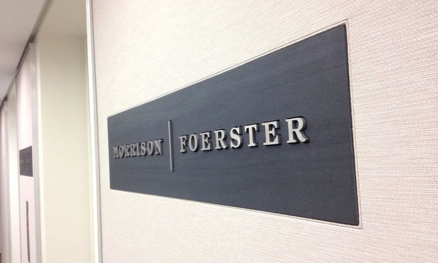 Morrison & Foerster sign