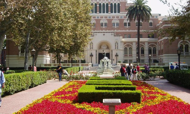 University of Southern California.