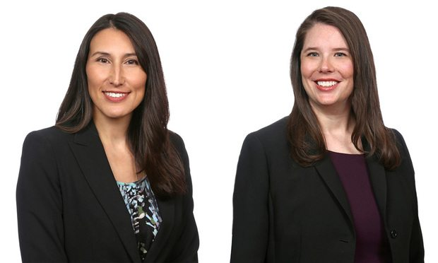Shari Klevens, left, and Alanna Clair, Dentons (photo: Courtesy Photo)