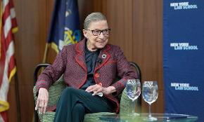 RBG Laments 'Partisan Show' of SCOTUS Confirmation Hearings