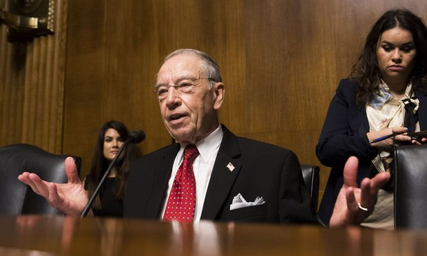 In Fracas Over 9th Circuit Nominee, Grassley Calls on Home ...