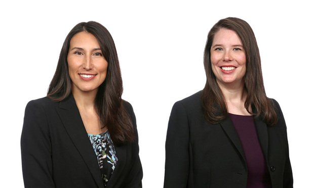 Shari Klevens, left, and Alanna Clair, Dentons (Courtesy Photo)