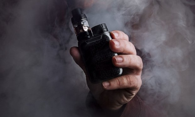 An e-cigarette/Credit: joseluisserranoariza/Shutterstock.com