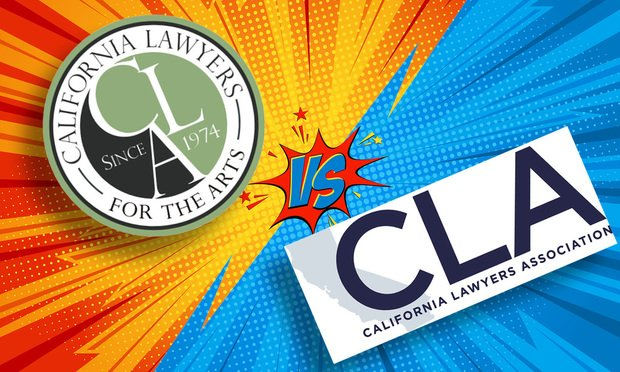Logos for the California Lawyers for the Arts and the Bar's California Lawyers Association (Photo: Courtesy/Shutterstock.com)