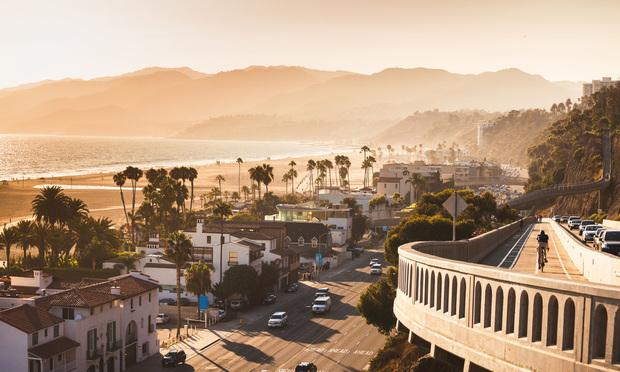 Sunset in Santa Monica, CA. Credit: Natalia Macheda/Shutterstock.com