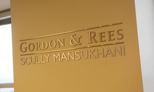 Gordon Rees Scully Mansukhani.