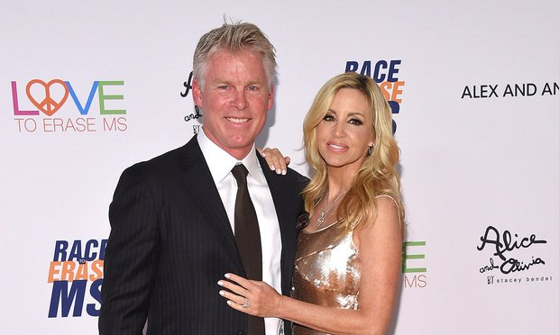 Camille Grammer and David Meyer