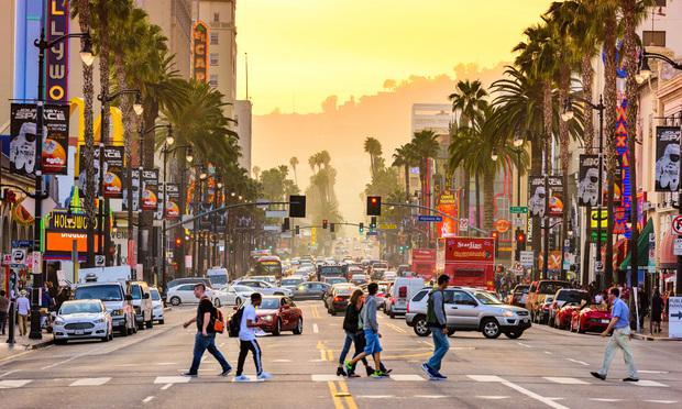 Hollywood Boulevard.