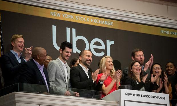 Uber at NYSE