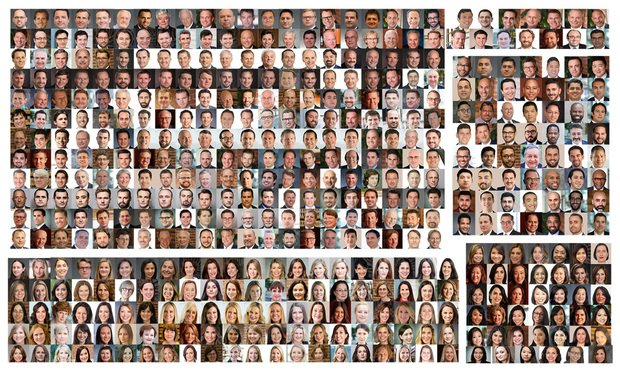 Collection of headshots representing the California plaintiffs' bar.
