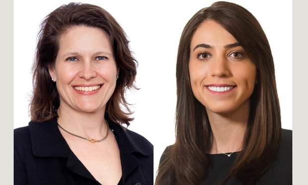 Cynthia J. Cole, left, and Sarah Phillips, right, of Baker Botts.