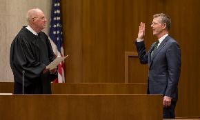 Urging 'Consistency ' Justice Kennedy Swears in Former Clerk Anderson as SF U S Attorney