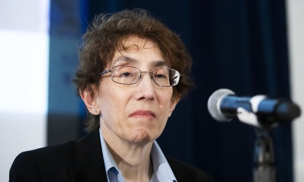 Judge Sandra Segal Ikuta, of the U.S. Court of Appeals for the Ninth Circuit, speaking during a panel discussion at the Federalist Society's 2018 National Lawyers Convention, held at The Mayflower Hotel in Washington, D.C..