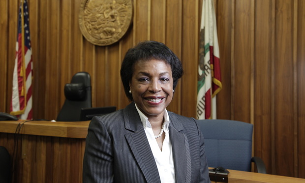 Winifred Smith Alameda County Superior Court Judge