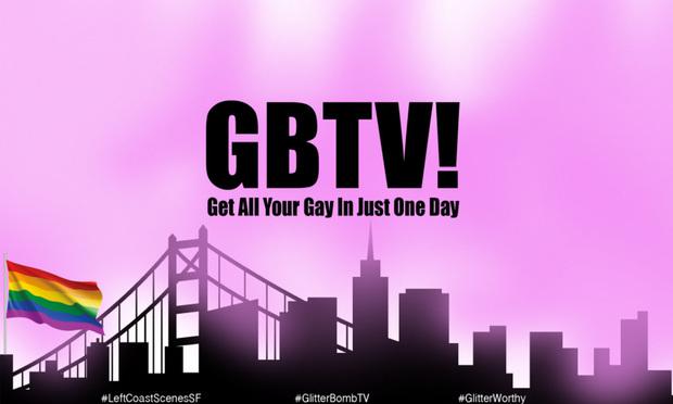 Glitter Bomb TV website landing page (Photo: Courtesy Photo)