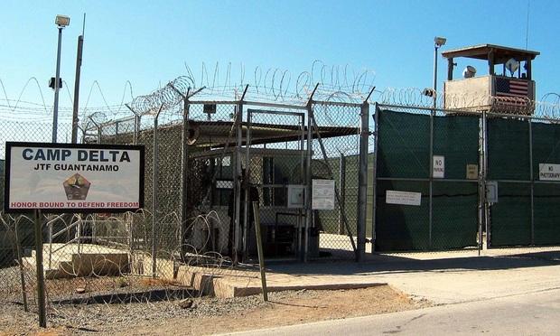 Camp Delta is a permanent American detainment camp at Guantanamo Bay, Cuba.
