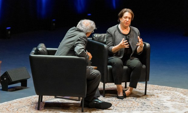 UC Berkeley School of Law Dean Erwin Chemerinsky and Associate Justice Elena Kagan, United States Supreme Court .