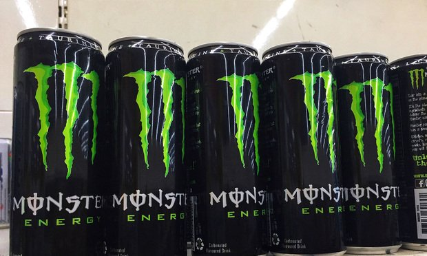Monster Energy cans.