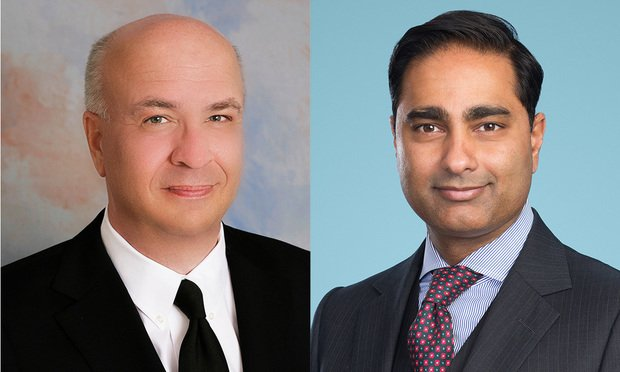 (L to R) Richard Kirkpatrick and Vijay Toke, Pillsbury (Photo: Courtesy Photo)