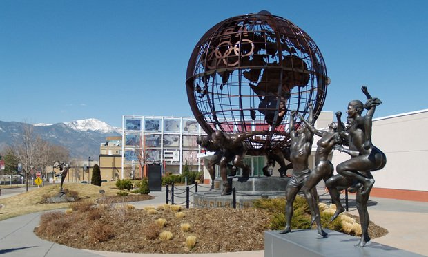 United States Olympic Committee headquarters in Colorado Springs, Colorado