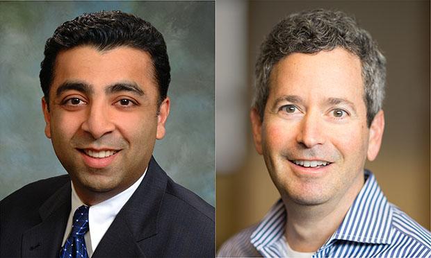 ( L to R) Raj Judge and Craig Sherman, Wilson Sonsini Goodrich & Rosati (Photo: Courtesy Photo)