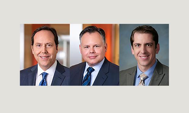Perrie M. Weiner, Edward D. Totino, and Aaron T. Goodman of Baker McKenzie