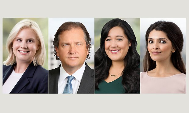 L-R Wynter Deagle, Ronald Raether, Ann-Marie Dao and Sadia Mirza, Troutman Sanders LLP.