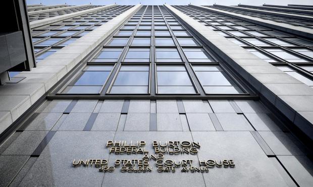 The Phillip Burton federal building in San Francisco, California. Photo by Jason Doiy/The Recorder.