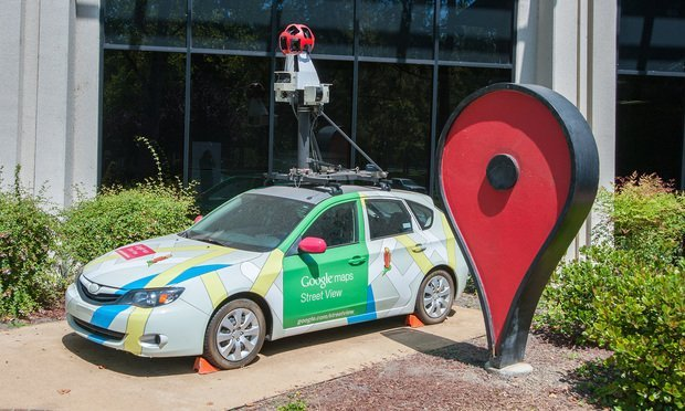 Google's Street View car on display at Google headquarters in Mountain View, CA (Photo: Shutterstock.com)