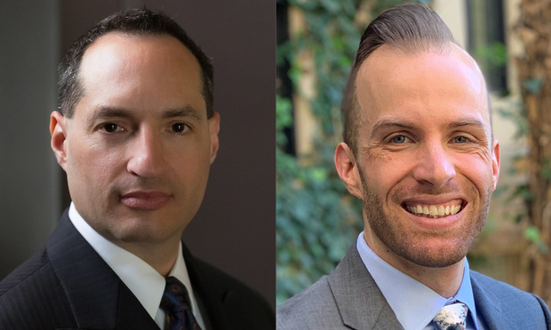 (L to R) David A. Carrillo, Lecturer in Residence and Executive Director, California Constitution Center at Berkeley Law and Matthew Stanford is an attorney and senior research fellow at the California Constitution Center (Photo: Courtesy Photo)