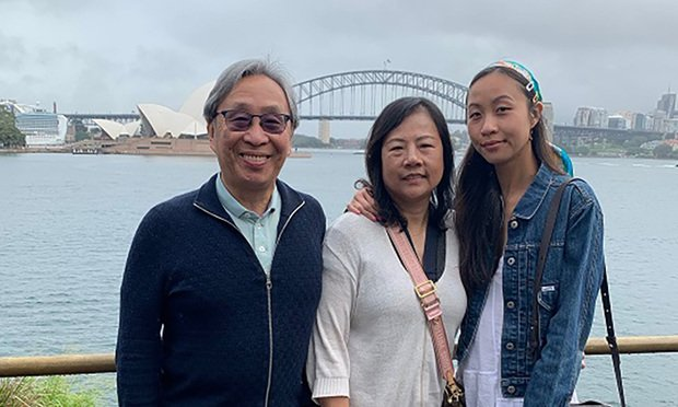The Family of Chung Chen, a passenger on board the Ruby Princess.
