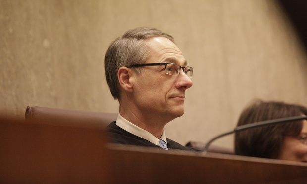 Judge Richard Seeborg, United States District court for the Northern District of California. (Photo: Jason Doiy/ALM)