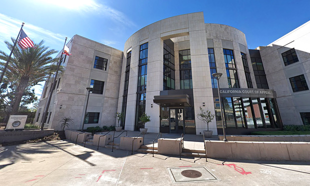 Fourth District Court of Appeal courthouse in Santa Ana, CA.
