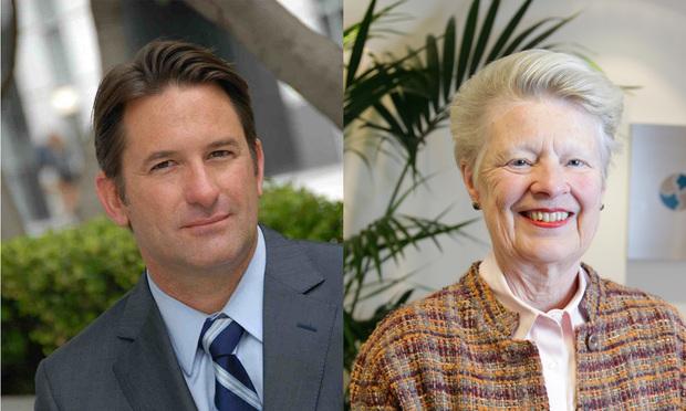 Frank Bottini of Bottini & Bottini and Louise Renne of Renne Public Law Group (Photo: Courtesy Photo; Hillary Jones-Mixon)