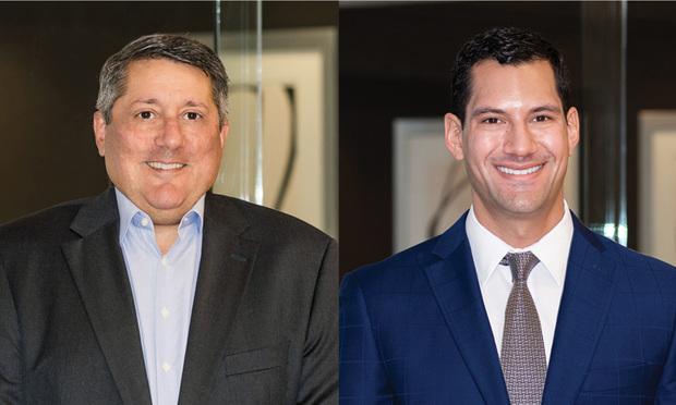 Jeffrey Dintzer,left, and Gregory S. Berlin, right, of Alston & Bird.