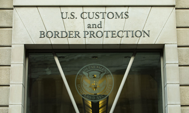U.S. Customs and Border Protection building Washington, D.C. June 6, 2020.