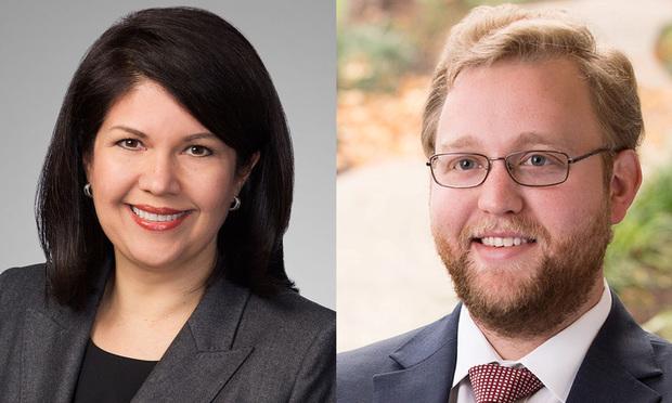Elizabeth Deeley and Daniel Gherardi Latham & Watkins (Photo: Courtesy Photo)