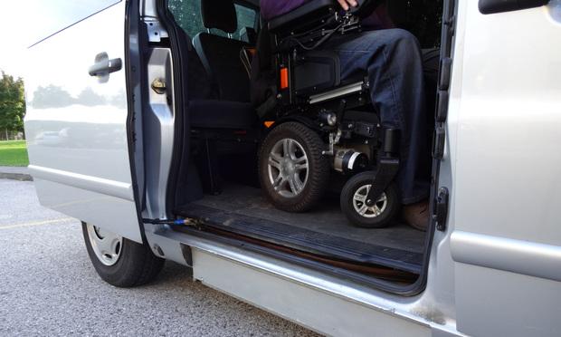 Wheelchair accessible vehicle. Credit: grejak/Shutterstock.com