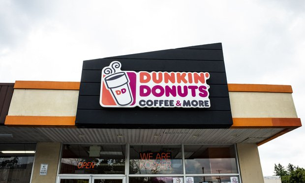 Dunkin' Donuts location in Baltimore, MD. August 11, 2020. Photo: Diego M. Radzinschi/ALM